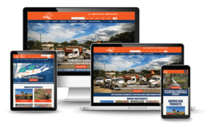 Responsive website design for The Garden Department