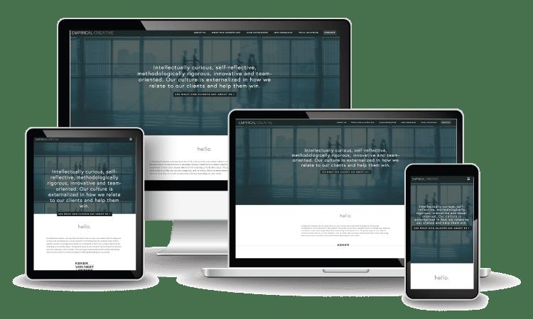 Empirical Creative Web Design