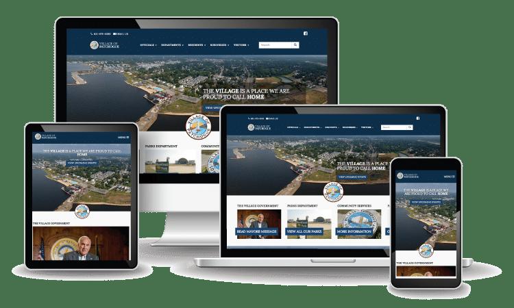 Patchogue Village Website Design